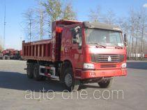 宏昌天马牌HCL5257ZLJZZ416L4型自卸式垃圾车