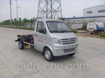 Huatong HCQ5020ZXXFJ5 detachable body garbage truck