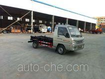 Huatong HCQ5021ZXXBJ detachable body garbage truck