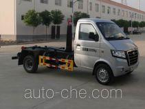 Huatong HCQ5021ZXXGA detachable body garbage truck