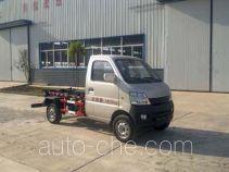 Huatong HCQ5027ZXXSC5 detachable body garbage truck
