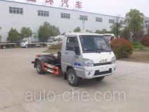 Huatong HCQ5030ZXXHF5 detachable body garbage truck