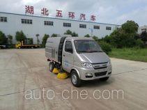 Huatong HCQ5032TSLSC5 street sweeper truck