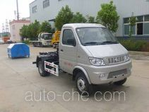Huatong HCQ5036ZXXSC detachable body garbage truck