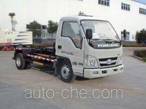 Huatong HCQ5040ZXXB5 detachable body garbage truck