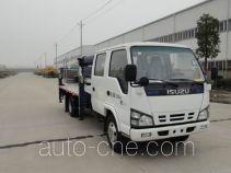 华通牌HCQ5070JGKNK3型高空作业车