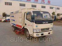 Huatong HCQ5071TSLDFA street sweeper truck