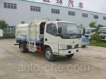 Huatong HCQ5071ZDJDFA docking garbage compactor truck