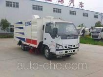 Huatong HCQ5073TXSQL street sweeper truck