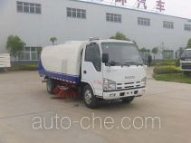 Huatong HCQ5075TSLQL street sweeper truck