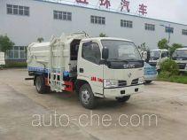 Huatong HCQ5041ZDJE5 docking garbage compactor truck