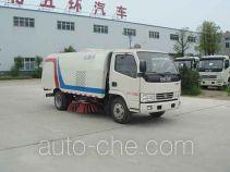 Huatong HCQ5076TSLDFA street sweeper truck