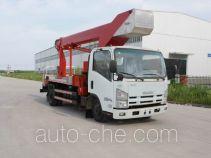 华通牌HCQ5090JGKQL3型高空作业车