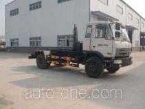 Huatong HCQ5120ZXXE detachable body garbage truck