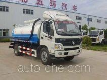 Huatong HCQ5129GXEBJ5 suction truck