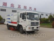 Huatong HCQ5160TSLDL5 street sweeper truck