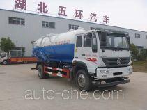 Huatong HCQ5161GXWZZ sewage suction truck