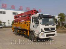 华通牌HCQ5200THBEQ5型混凝土泵车