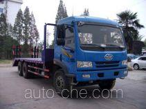 Huatong HCQ5201TPBC3 flatbed truck