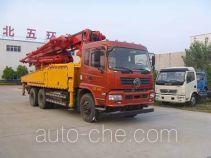 华通牌HCQ5251THBEQ5型混凝土泵车