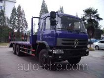 Huatong HCQ5253TPBDJ flatbed truck