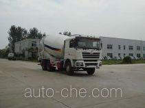 华通牌HCQ5256GJBSX型混凝土搅拌运输车