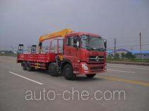 Huatong HCQ5310JSQDL3 truck mounted loader crane