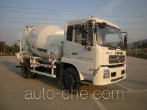 华建牌HDJ5140GJBDF型混凝土搅拌运输车