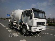 华建牌HDJ5160GJBHH型混凝土搅拌运输车