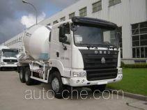 华建牌HDJ5250GJBHY型混凝土搅拌运输车