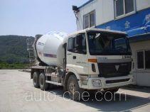 华建牌HDJ5251GJBAU型混凝土搅拌运输车