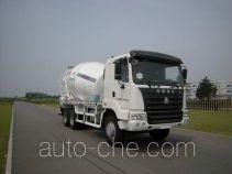 华建牌HDJ5251GJBHY型混凝土搅拌运输车