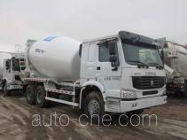 华建牌HDJ5253GJBHO型混凝土搅拌运输车