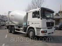 华建牌HDJ5253GJBSX型混凝土搅拌运输车
