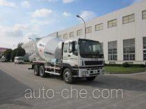 华建牌HDJ5254GJBIS型混凝土搅拌运输车