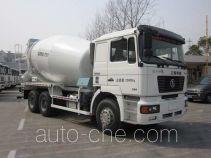 华建牌HDJ5254GJBSX型混凝土搅拌运输车
