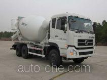 华建牌HDJ5255GJBDF型混凝土搅拌运输车