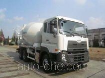 华建牌HDJ5256GJBDN型混凝土搅拌运输车