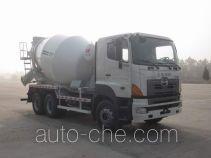 华建牌HDJ5256GJBHI型混凝土搅拌运输车