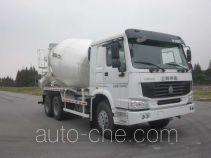 华建牌HDJ5256GJBHO型混凝土搅拌运输车