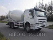 华建牌HDJ5257GJBHO型混凝土搅拌运输车
