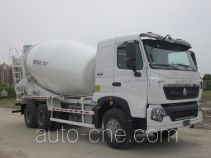 华建牌HDJ5258GJBHO型混凝土搅拌运输车