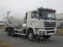 华建牌HDJ5258GJBSX型混凝土搅拌运输车