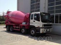 华建牌HDJ5310GJBIS型混凝土搅拌运输车