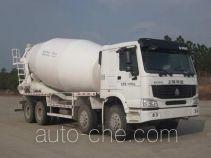 华建牌HDJ5312GJBHO型混凝土搅拌运输车