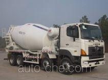 华建牌HDJ5314GJBHI型混凝土搅拌运输车