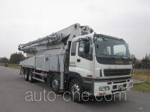 华建牌HDJ5410THBIS型混凝土泵车