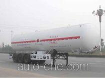 Baohuan HDS9400GRQ flammable gas tank trailer