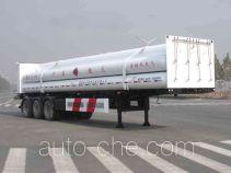 Baohuan HDS9401GRQ flammable gas tank trailer
