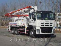 铁力士牌HDT5282THB型混凝土泵车